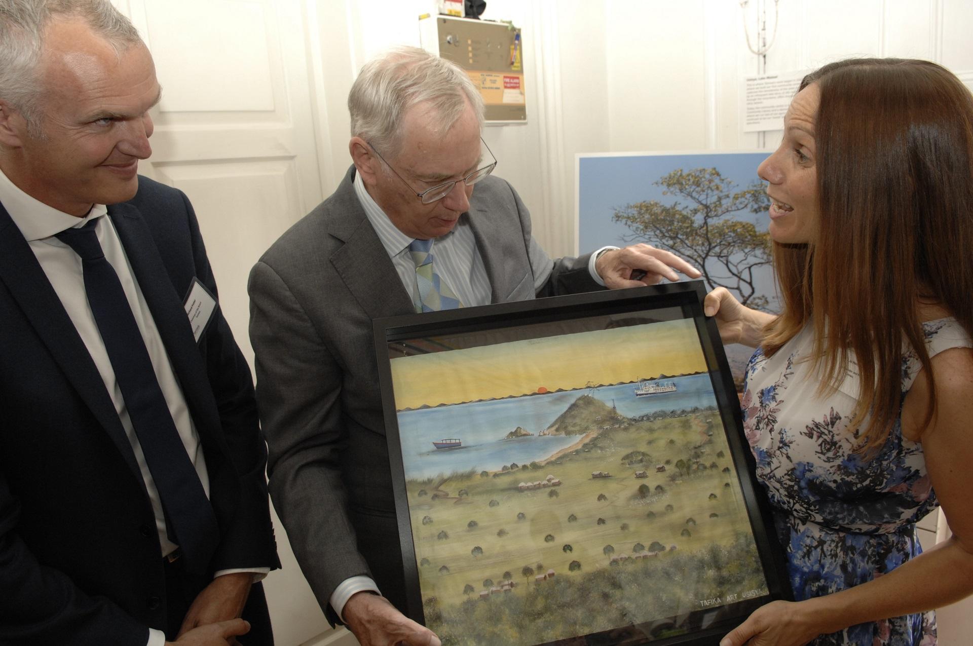 #Temwa Royal Visit