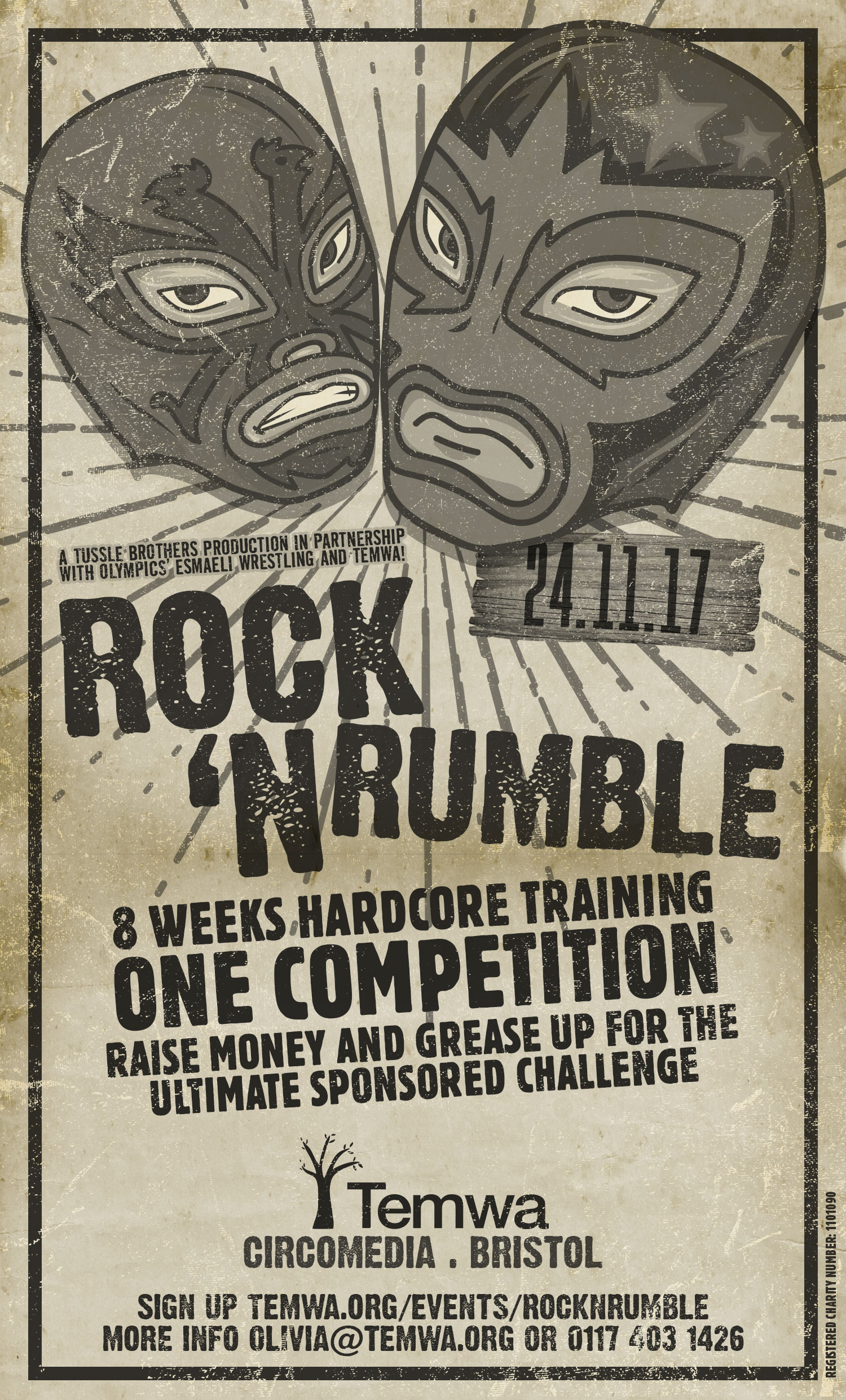 Temwa Rock N Rumble Flyer