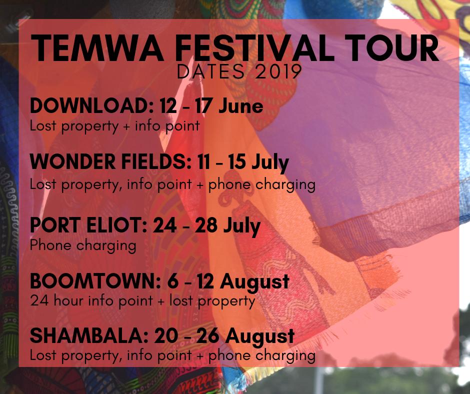 festival tour