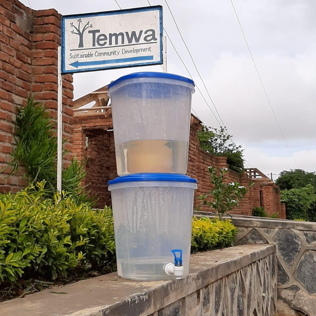Water filters provided by Temwa