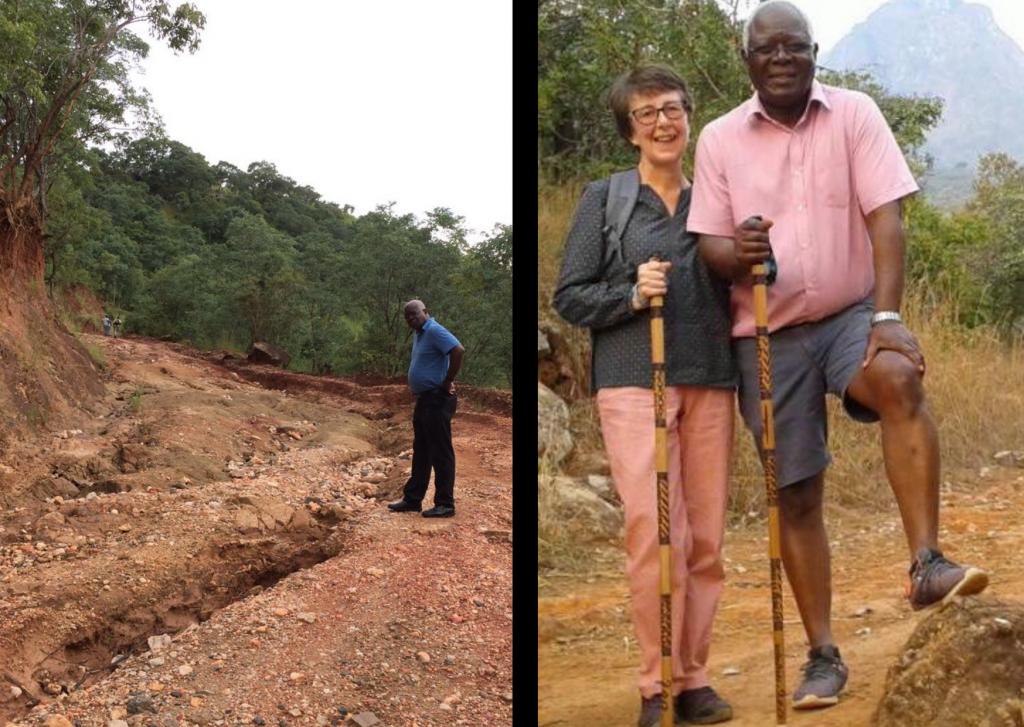 Zedi Nyirenda and Oliver Mkandawire