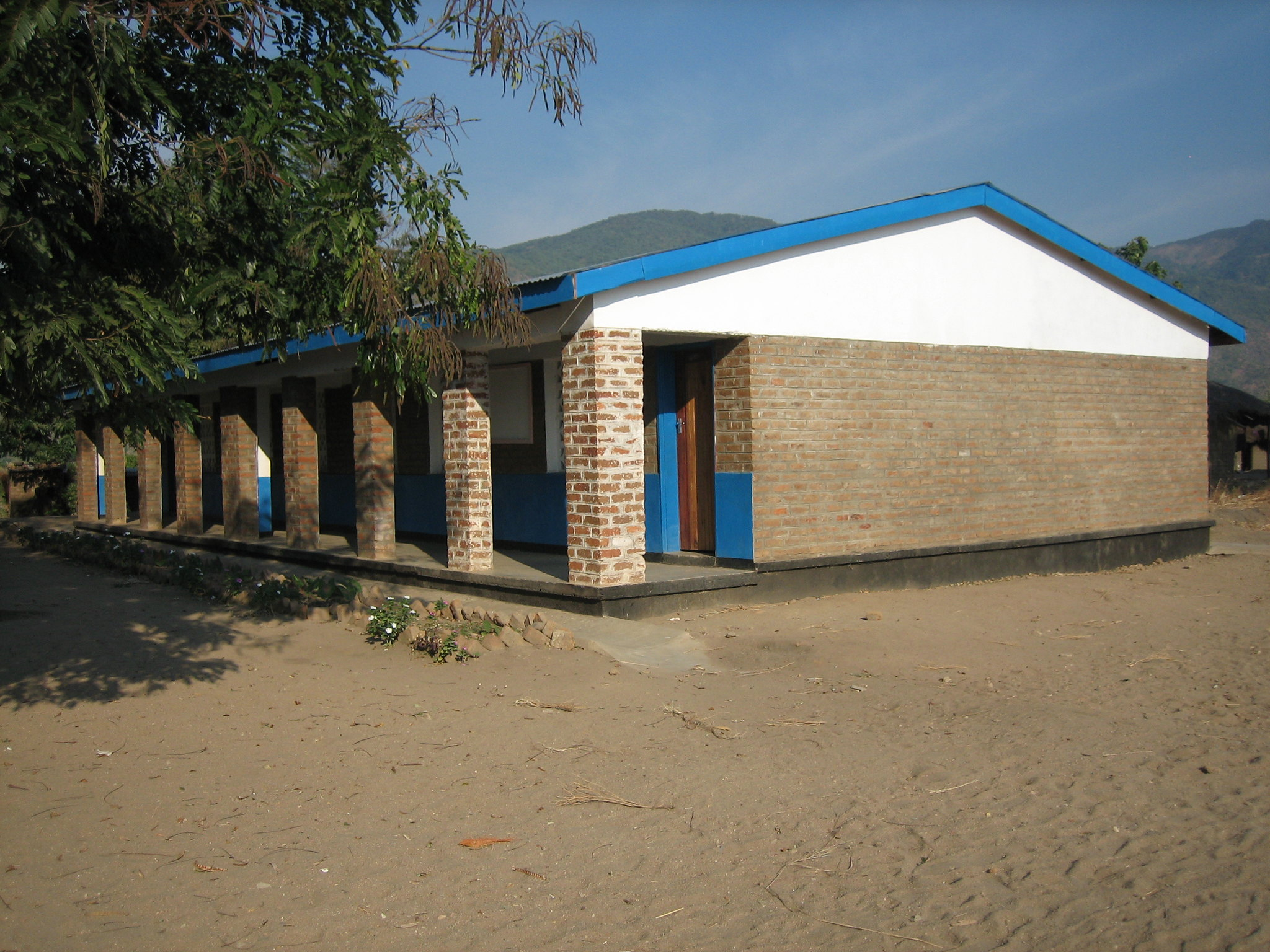 Temwa and the community came together to build Usisya Girl's School  and hostel