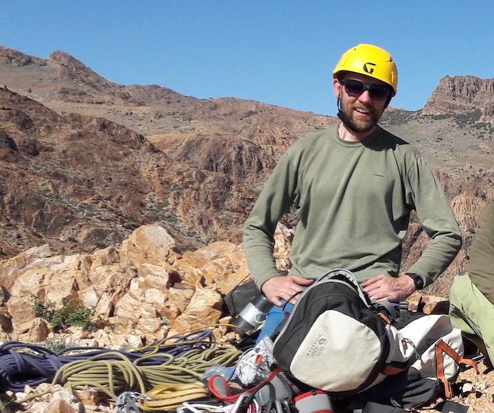 Dan - Trek leader of the Temwa 3 peaks brecon beacons challenge